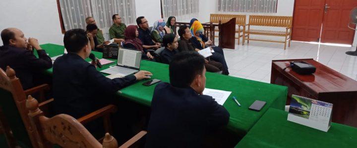 Rapat Koordinasi bulan Maret Pengadilan Agama Buntok