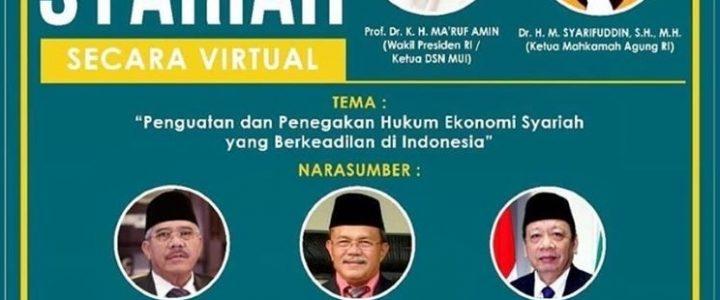Ketua Mahkamah Agung Sampaikan Keynote Speech Seminar Nasional Ekonomi Syariah