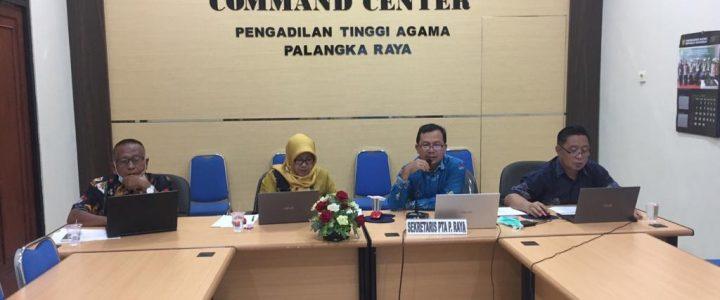 PTA Palangka Raya Gelar Sosialisasi Penilaian Kinerja Pegawai (PKP) Se- PA Kalimantan Tengah