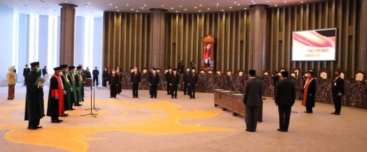 Ketua MA Lantik Tiga Ketua Pengadilan Tinggi Agama