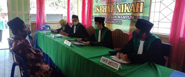 Pengadilan Agama Buntok Telah Melaksanakan Sidang Di Luar Gedung Di Desa Teluk Mampun dan Desa Murung Paken,Kecamatan Dusun Selatan